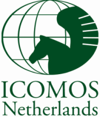 HTHIC Heritage & Slow TourismLAB by Elgin & Co. Logo of ICOMOS Netherlands