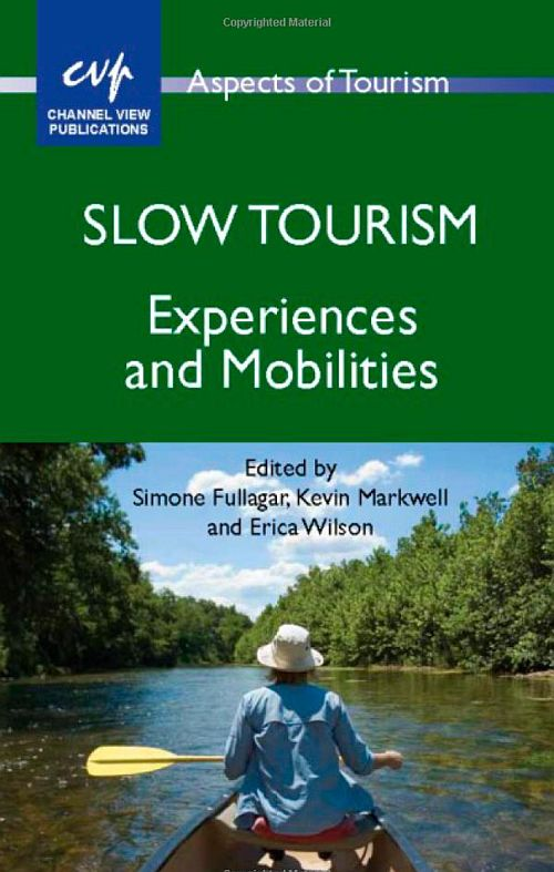 HTHIC Heritage & Slow TourismLAB Book cover Slow Tourism by Simone Fullagar